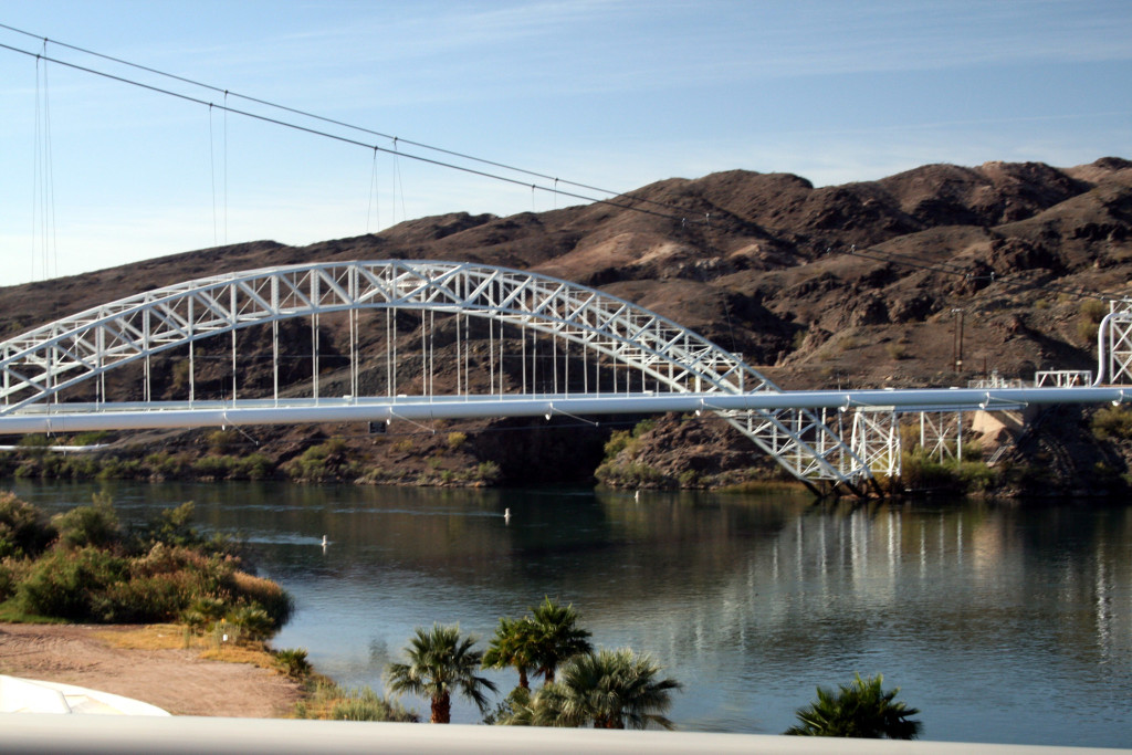 Old Trails Bridge Crossing the Colorado River