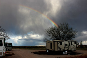 Rainbow at Seligman