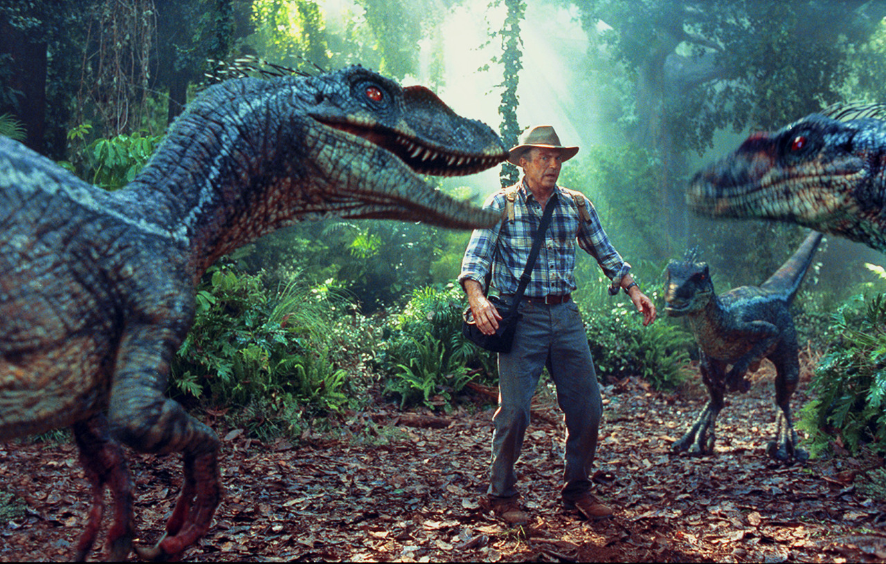 Don't mess with the raptors!