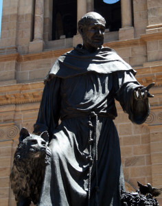 St Francis with Wolf