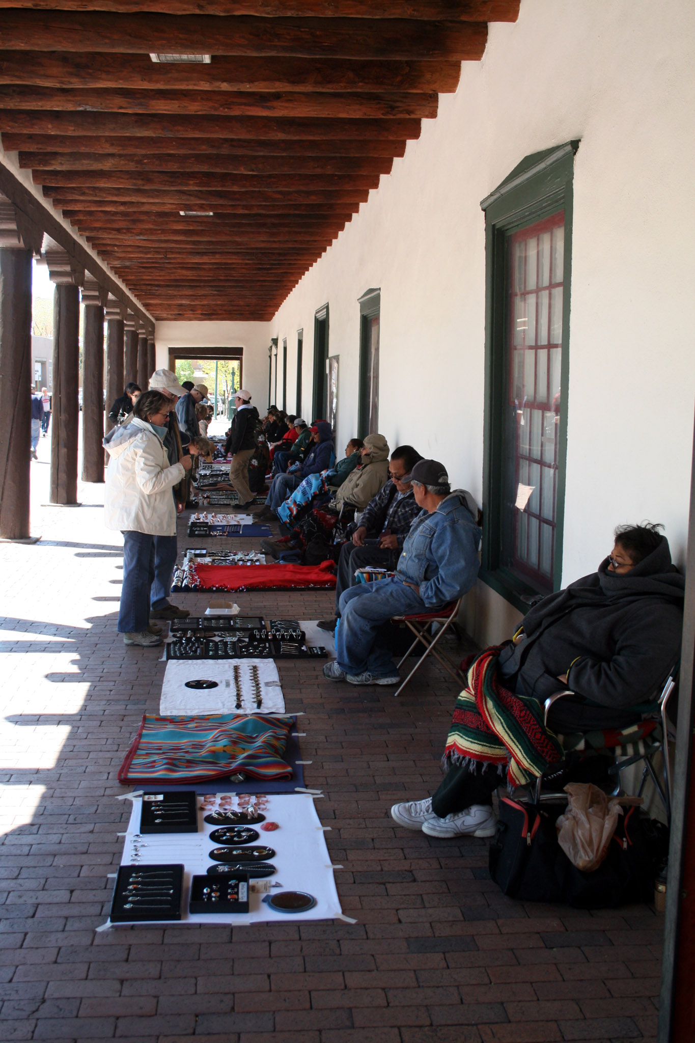 Native Jewelry in the Plaza