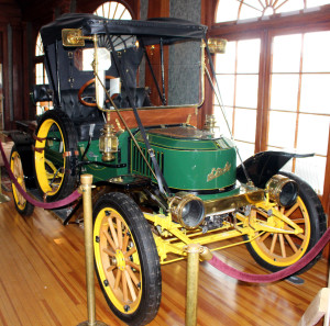 A Stanley Steamer in the Stanley Hotel
