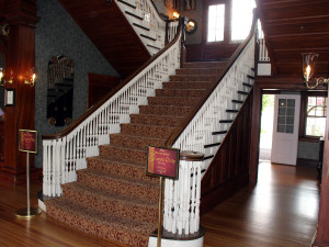 Main Staircase - Stanley Hotel