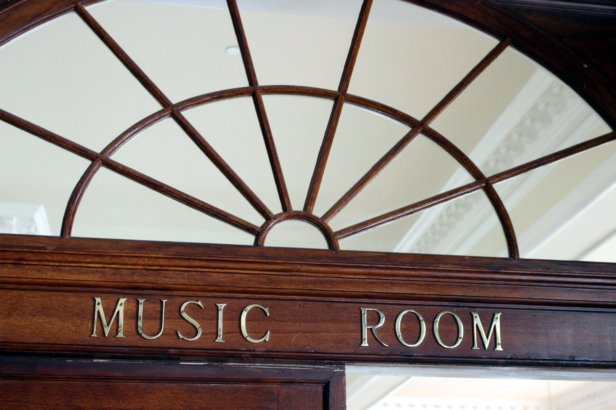The Stanley Hotel Music Room