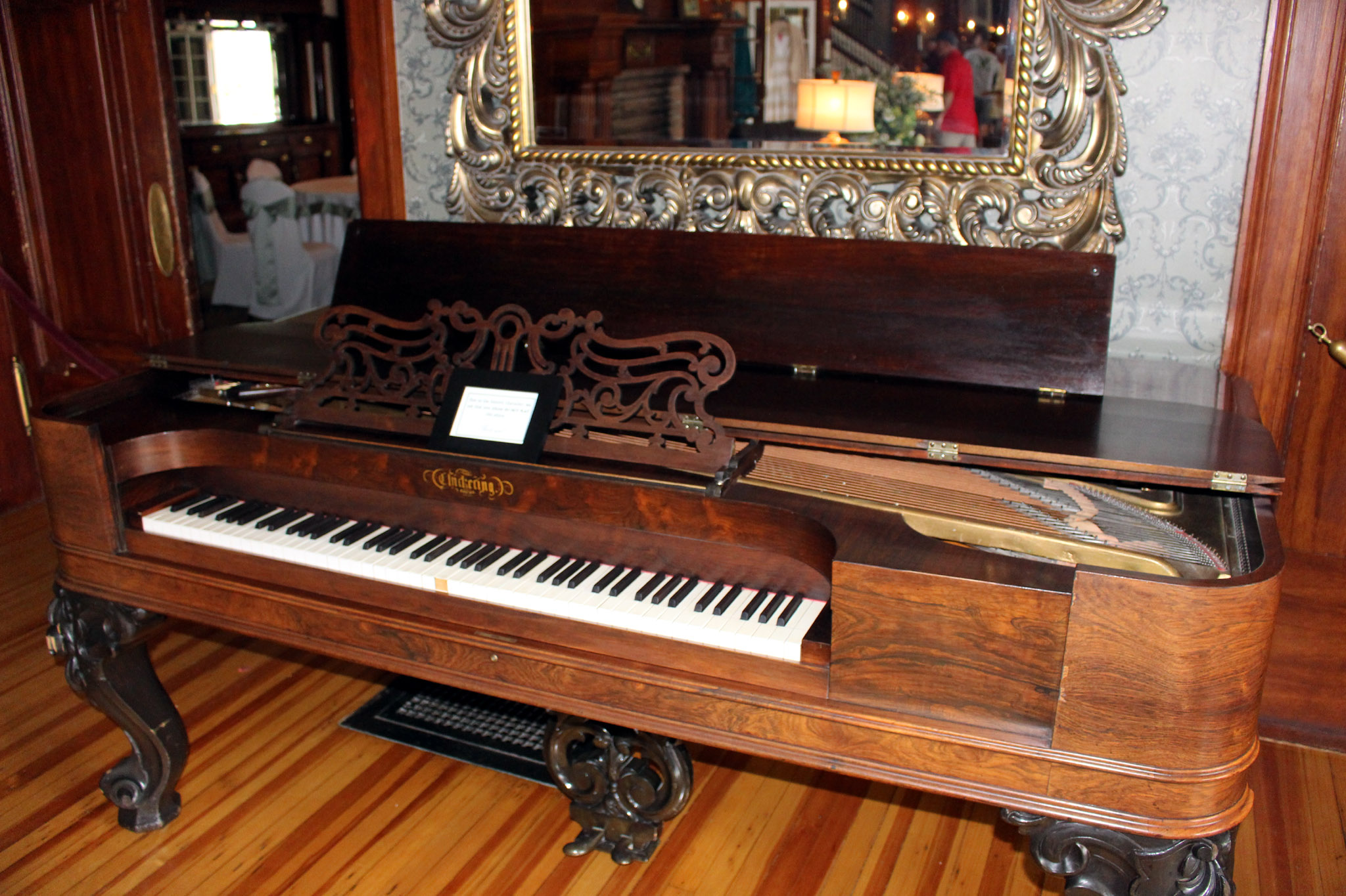 Chickering Piano - Stanley Hotel