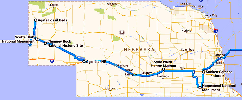 Our week in Nebraska 2015