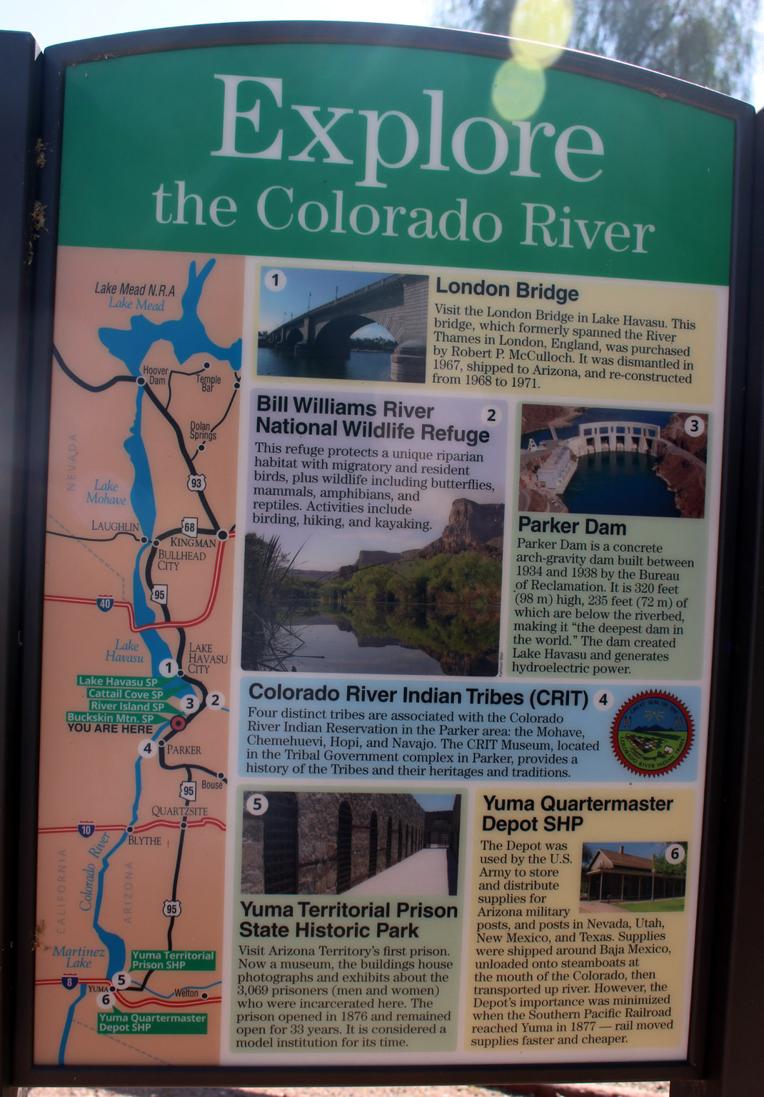 Explore the Colorado River