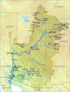 Dams on Colorado River