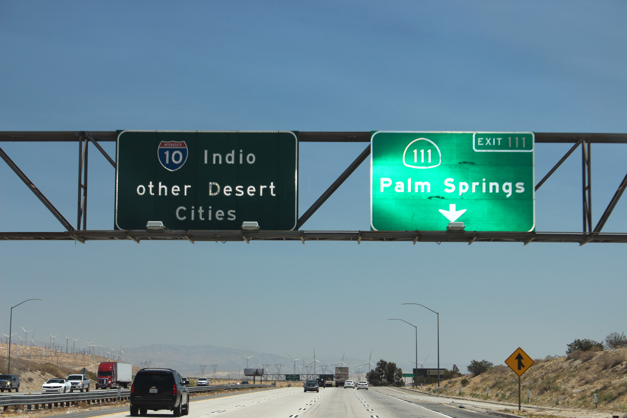 I-10 to Palm Springs and 100 plus