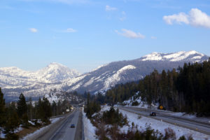 I-80 Over Donner Summit