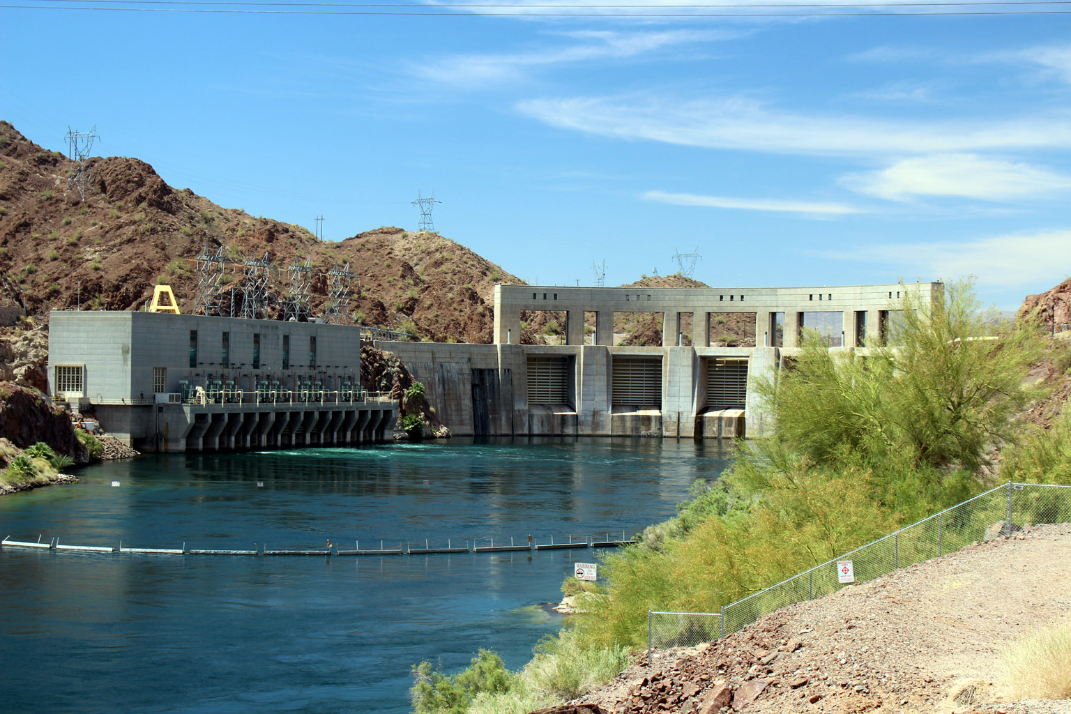 Parker Dam from Downstream