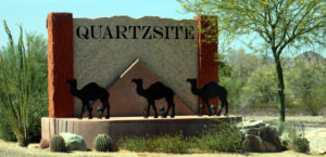 Welcome to Quartzsite