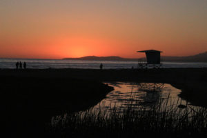 Carpinteria Sunset in the Moonlight