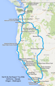 Our Route to the Northwest