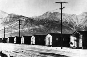 Barracks at Manzanar