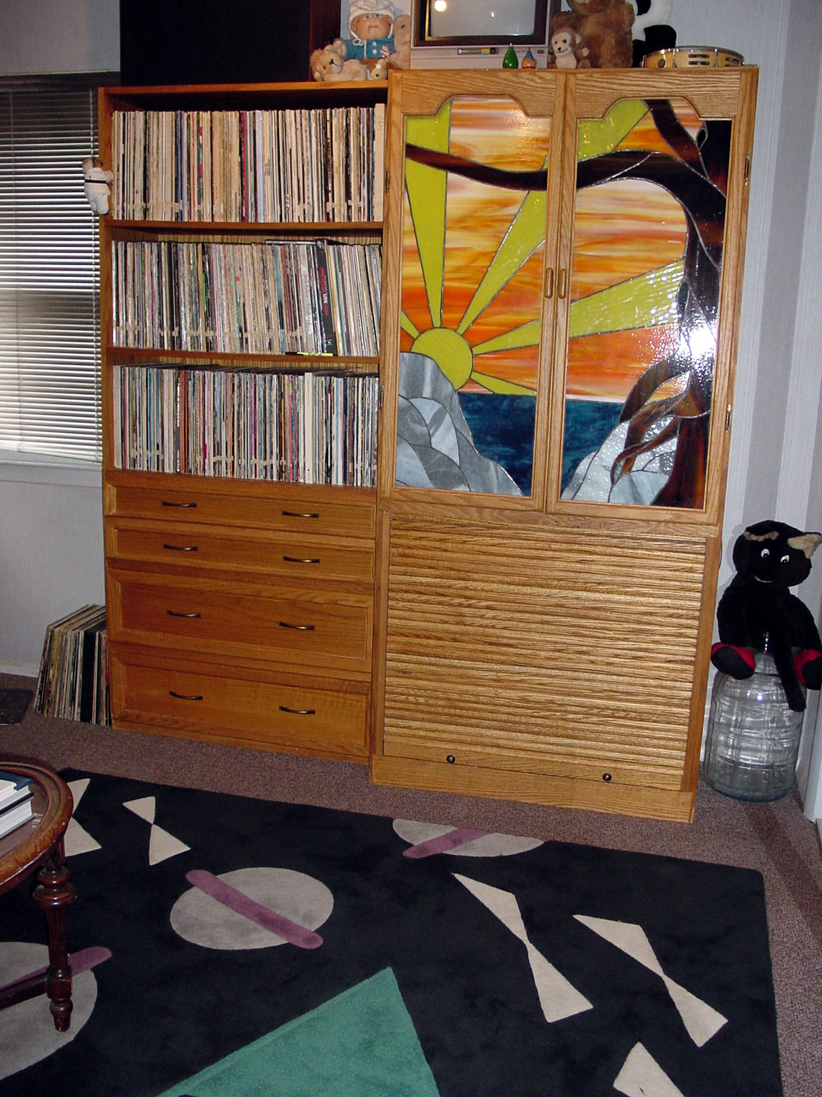 LP and 45-rpm Storage